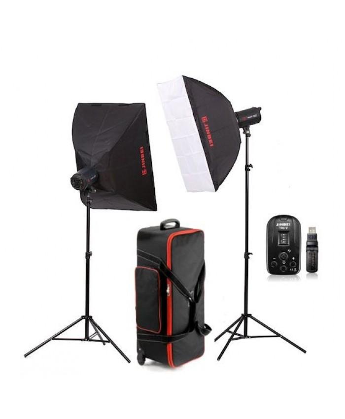 Jinbei Spark II-400 Studio Flash Kit