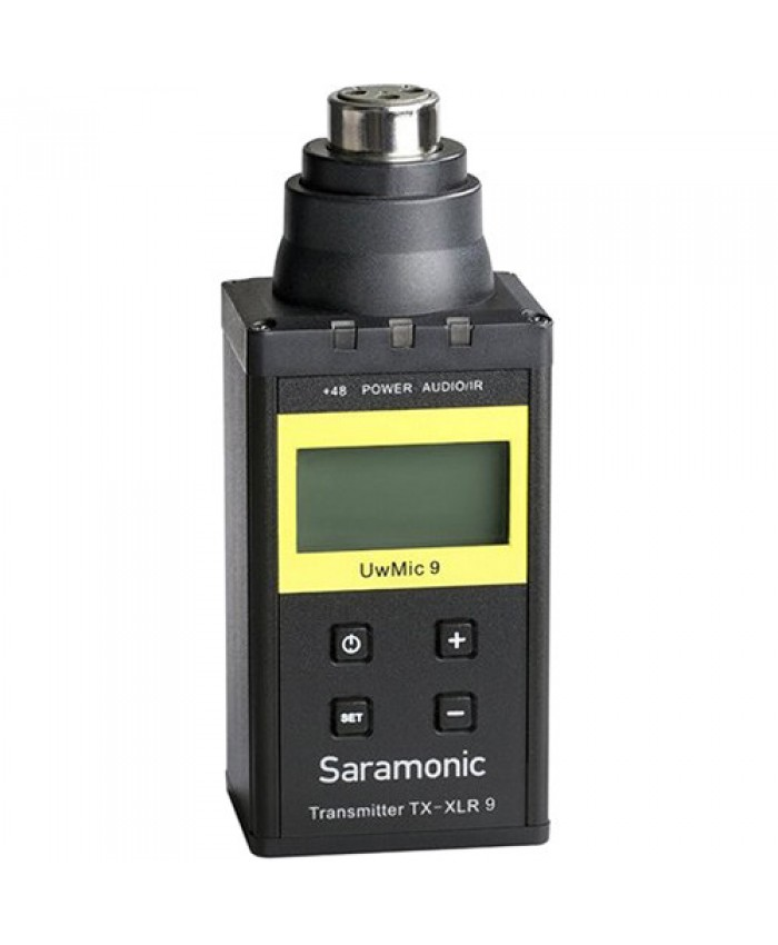 Saramonic TX-XLR9 Plug-On XLR Transmitter for UwMic9 UHF Wireless Mic System 514 to 596 MHz