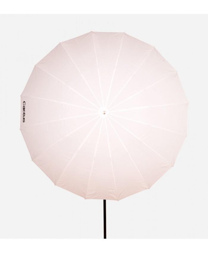 """Cactus Fiberglass 60"""" White Diffusion Umbrella F-601"""