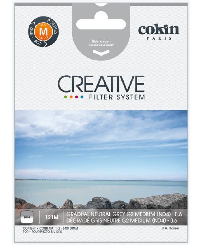 Cokin P121M Gradual Neutral Grey G2 Light ND4 - 0.6 Filter