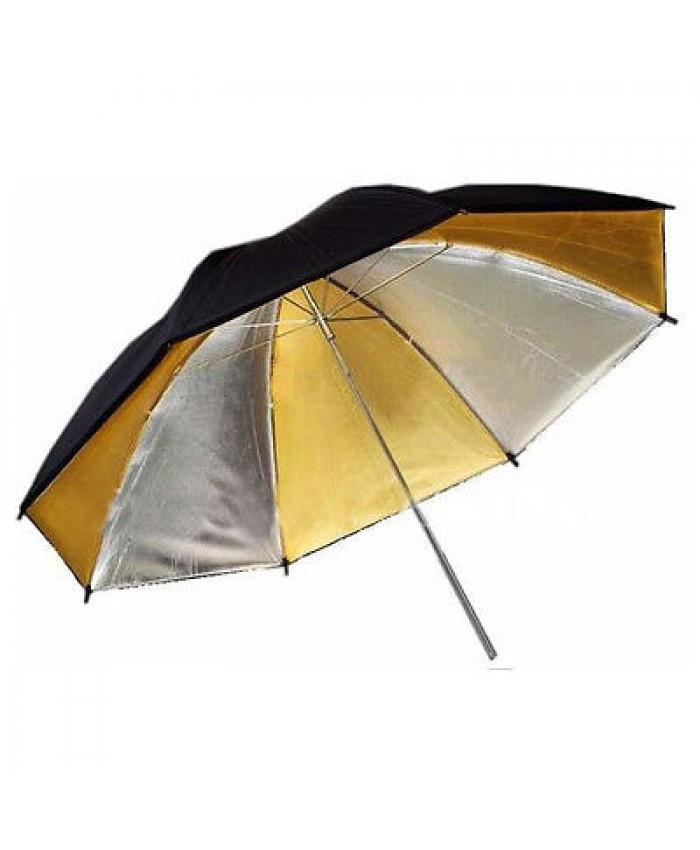 Weifeng Umbrella Black/Golden/Silver - 43 Inch