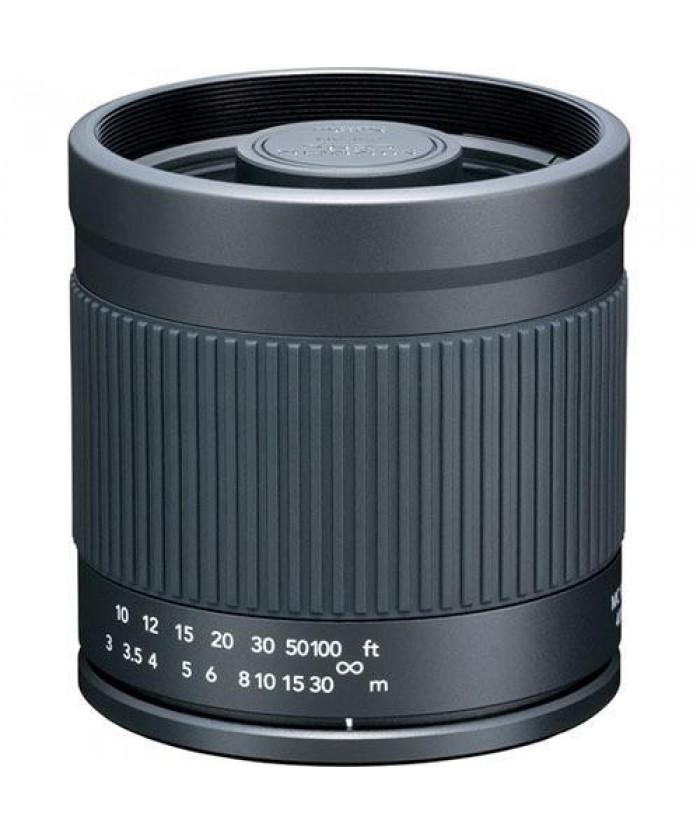 Kenko 400mm f/8.0 Mirror Lens for Canon - Black