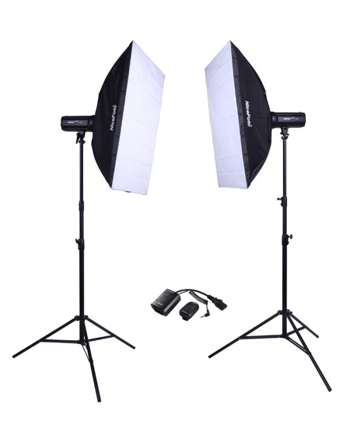 NiceFoto Studio Flash kit KT-417