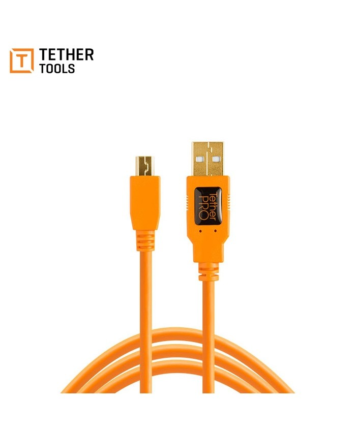 Tether Tools TetherPro USB 2.0 Type-A to 5-Pin Mini-USB Cable 1.8m CU5451