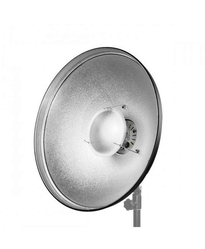Jinbei Beauty Dish 70cm Qz-70 Silver with Honeycomb Grid