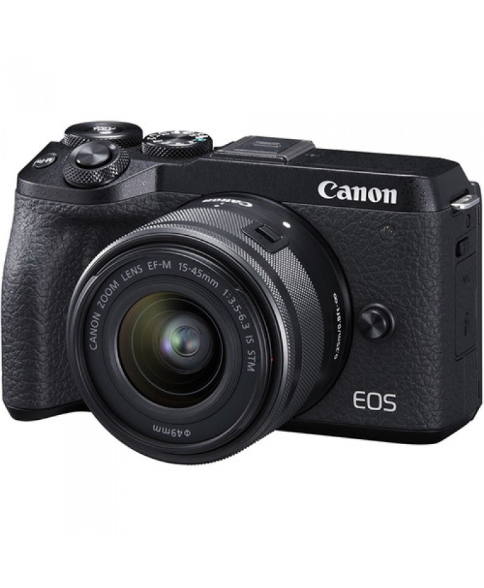 Canon EOS M6 Mark II Mirrorless  with 15-45mm Lens