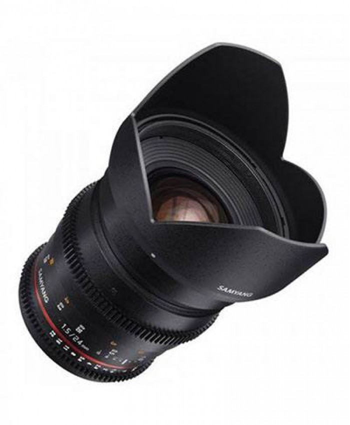 Samyang 24mm T1.5 VDSLRII Cine Lens for Canon EF Mount