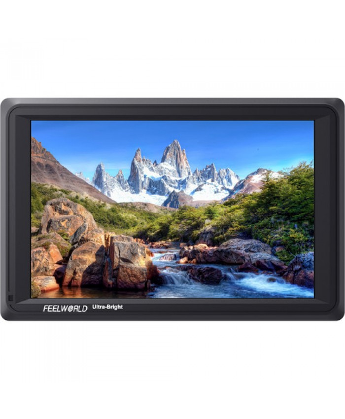 """FeelWorld 7"""" FW279S 4K Ultra-Bright Monitor with Loop-Through HDMI and 3G-SDI"""