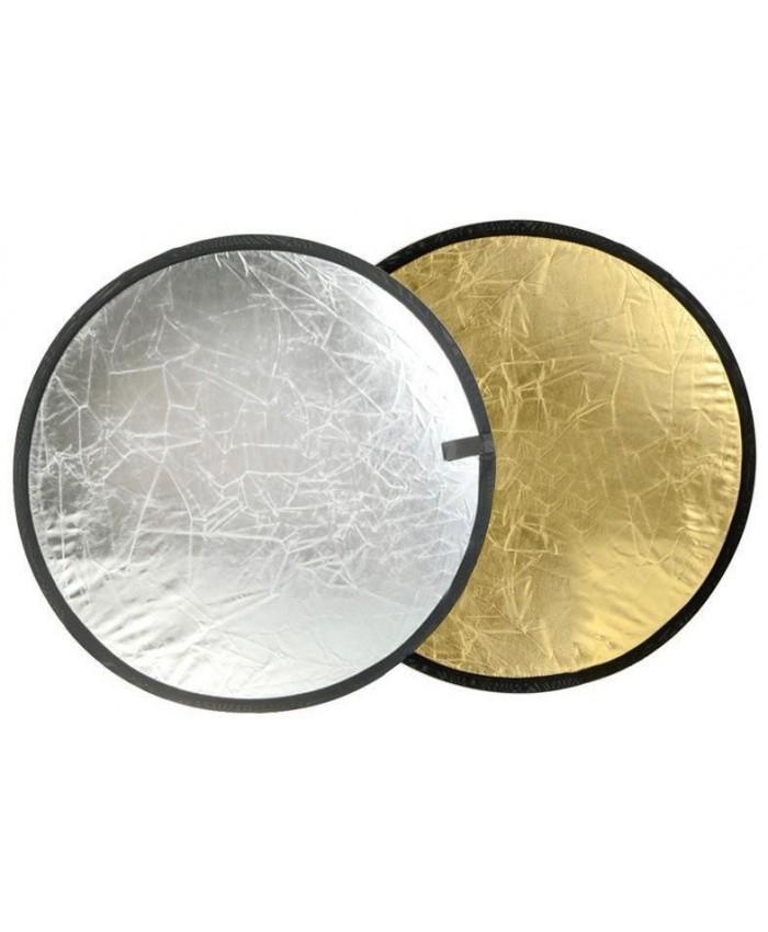 Jinbei 80cm Reflector Disc 2 in 1 Gold/Sliver