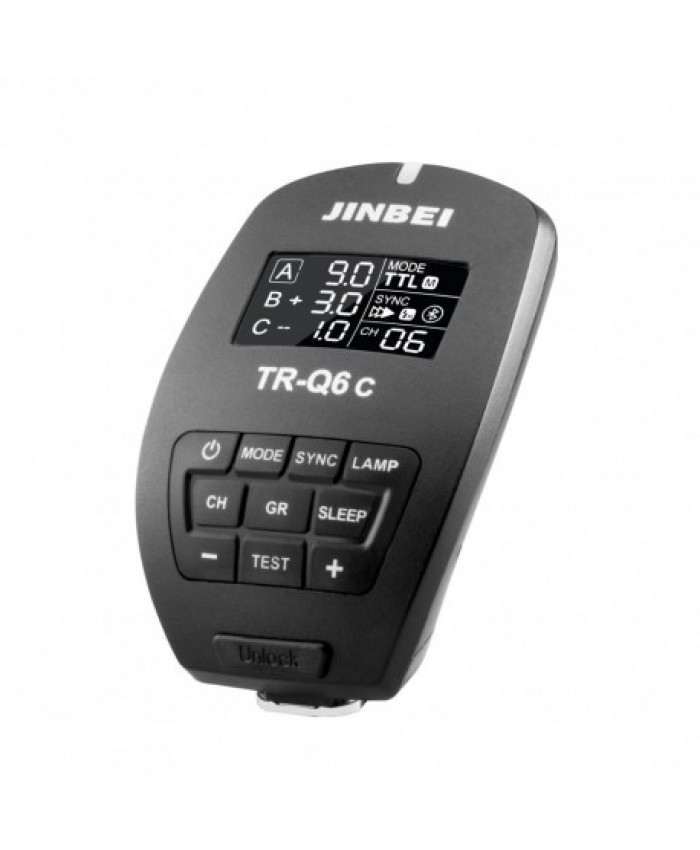 Jinbei TR-Q6C Bluetooth Smart Transmitter for Canon