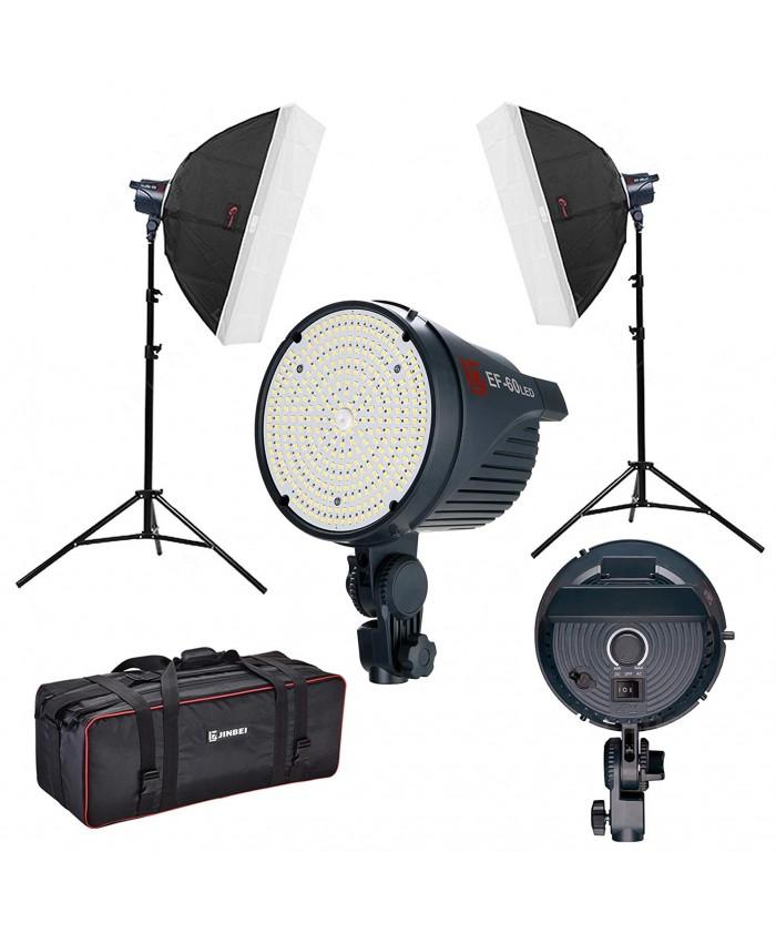 Jinbei EF-60 Double LED Continuous Light Kit