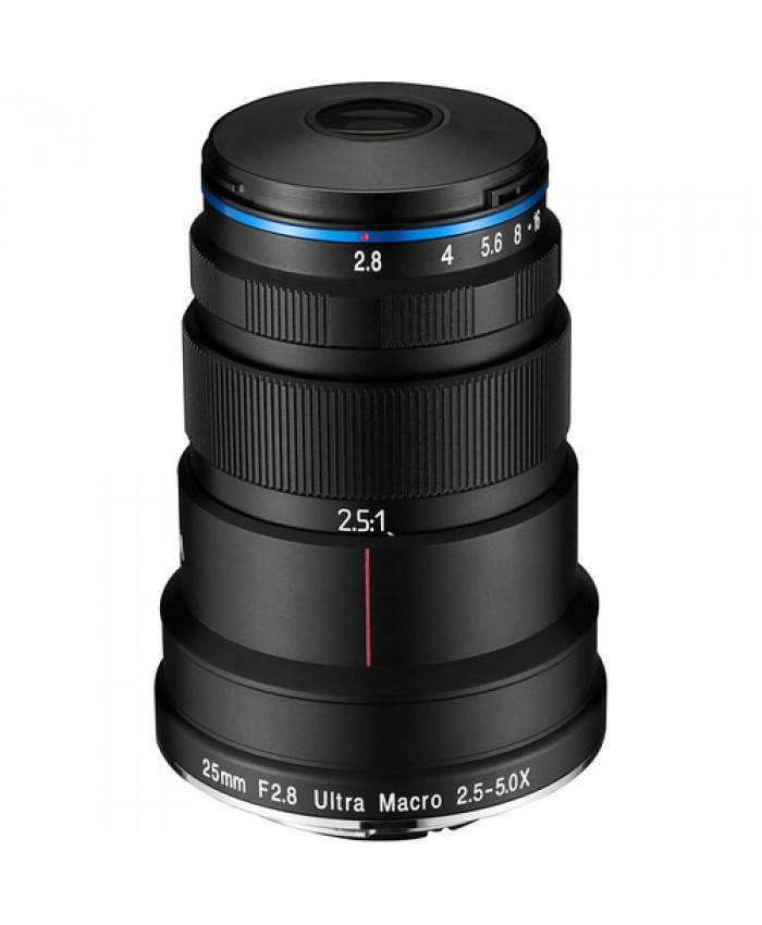 Laowa 25mm f/2.8 Ultra Macro 5x lens - Canon EF