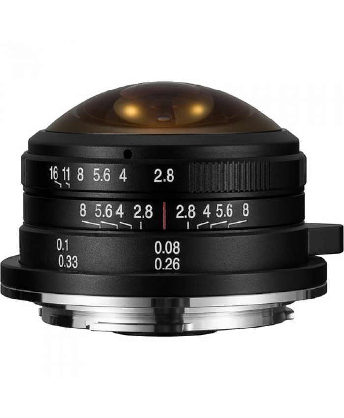 Laowa 4mm f/2.8 Fisheye Lens for Canon EF-M
