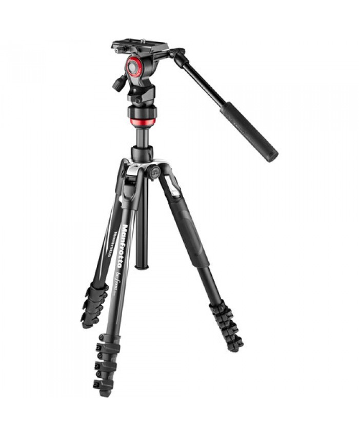 Manfrotto Befree Live Aluminum Lever-Lock Tripod Kit with EasyLink & Case