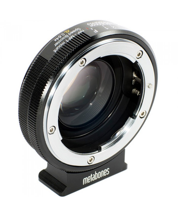 Metabones Speed Booster XL 0.64x Adapter for Nikon G Lens to Select Micro Four Thirds-Mount Camera