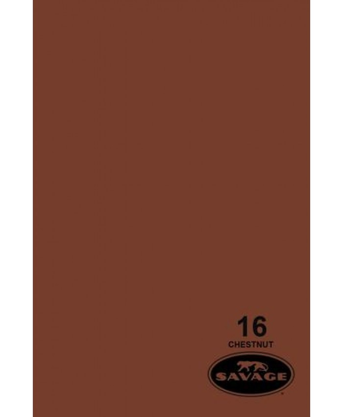 Savage Widetone Seamless Background Paper #16 Chestnut 2.7m