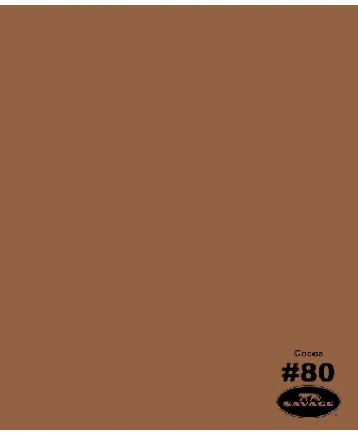 Savage Widetone Seamless Background Paper #80 Cocoa 2.7m