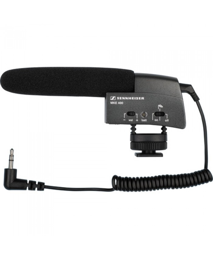 Sennheiser MKE 400 Camera-Mount Shotgun Microphone