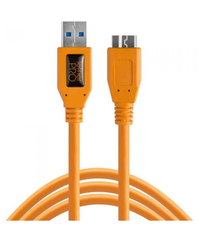 Tether Tools TetherPro USB 3.0 Male Type-A to USB 3.0 Micro-B Cable 4.80 CU5454