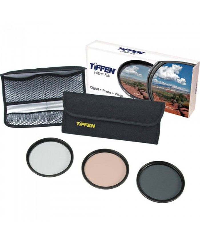 Tiffen 49mm Photo Essentials Filter Kit