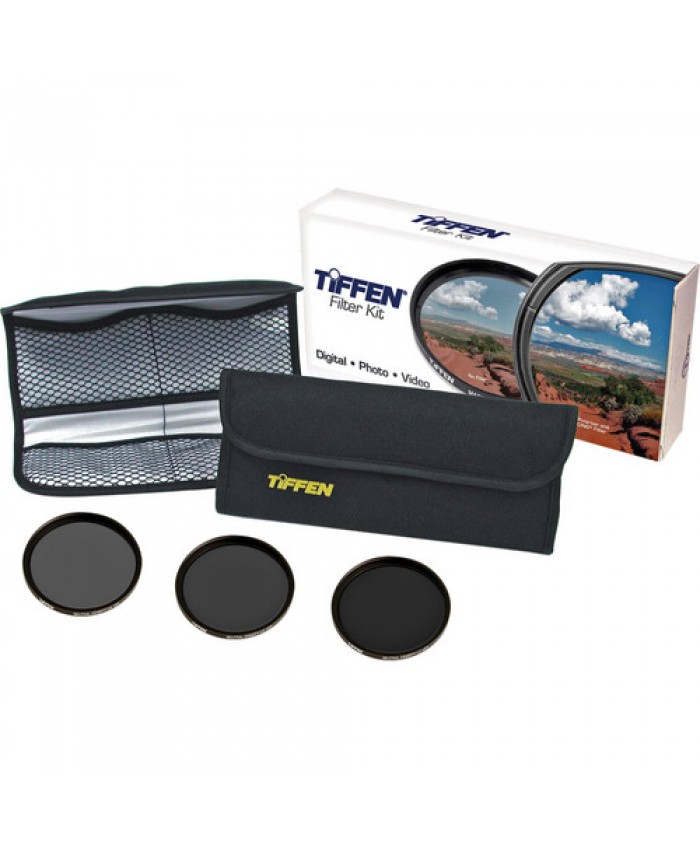 Tiffen 72mm Digital ND Filter Kit (2, 3, 4-Stop)