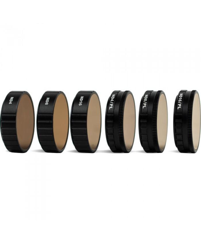 Tiffen 6-Filter Kit for DJI Osmo Action