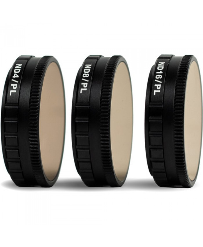 Tiffen 3-Filter Kit for DJI Osmo Action