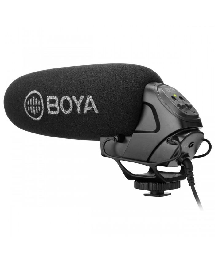 BOYA BY-BM3031 On-Camera Supercardioid Condenser Shotgun Microphone