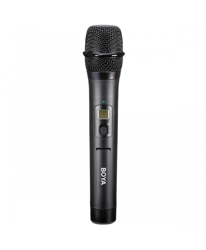 BOYA BY-WHM8 UHF Wireless Handheld Transmitter Microphone for BY-WM6 and BY-WM8 Wireless Receiver