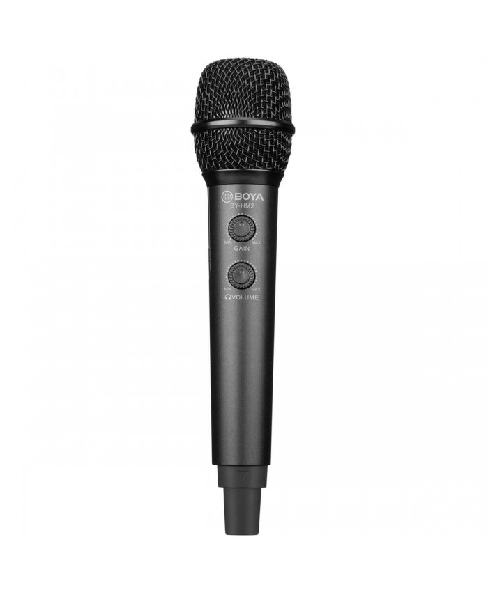 BOYA BY-HM2 Digital Cardioid Condenser Electret Handheld Microphone for iOS/Android/Mac/Windows