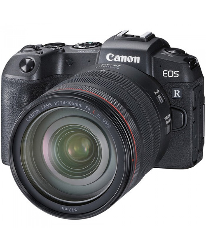 Canon EOS RP Mirrorless  with RF 24-105mm + Adapter