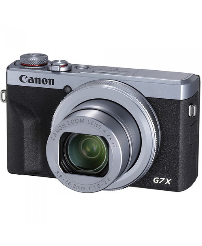 Canon PowerShot G7 X Mark III Digital Camera Sliver