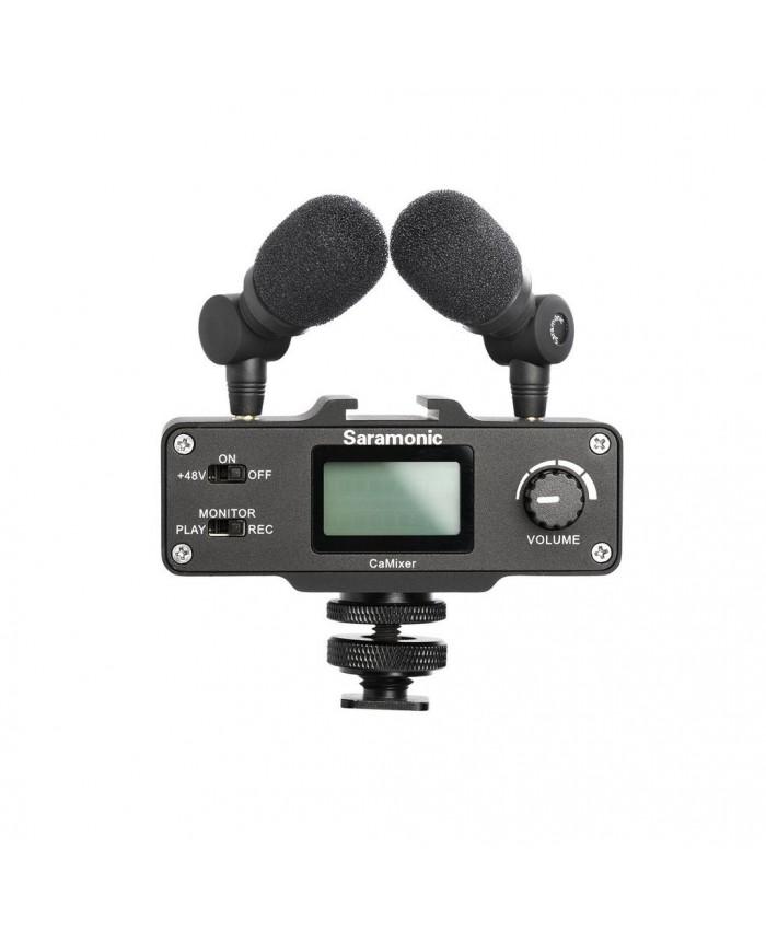 Saramonic CaMixer Microphone Kit with Dual Stereo Condenser Mics