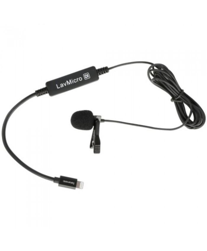 Saramonic LavMicro-Di Broadcast Condenser Lavalier Omnidirectional Microphone 1.7m for Lightning for iPhone