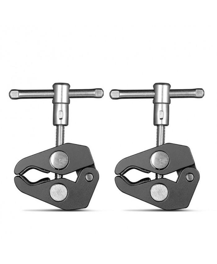 "SmallRig Super Clamp with 1/4"" and 3/8"" Thread (2pcs Pack) 2058"