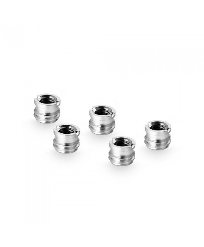 "SmallRig 1/4"" to 3/8"" Screw Adapter (5 pcs) 1610"
