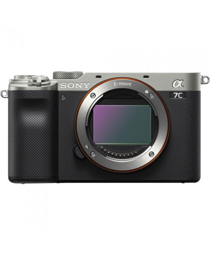 Sony Alpha a7C Mirrorless Digital Camera Body Only Silver