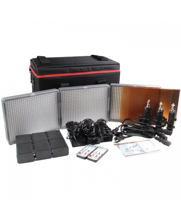 Aputure Amaran HR672 LED Video Light Kit CSS