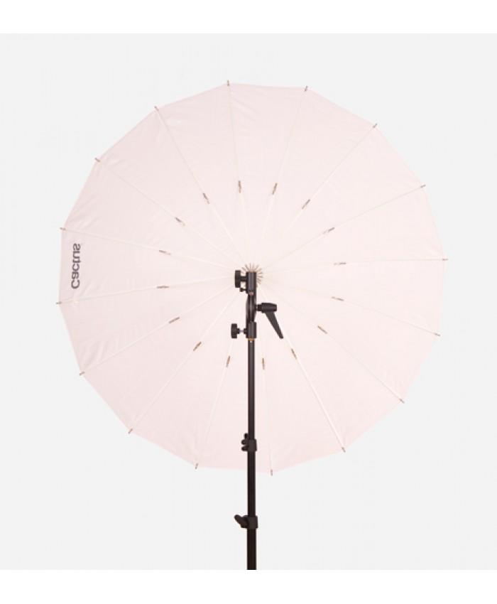 """Cactus Fiberglass 40"""" White Diffusion Umbrella F-401"""