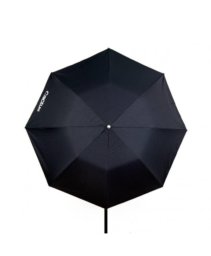 "Cactus Black/White Reflector Collapsible Umbrella 45"" C-453"