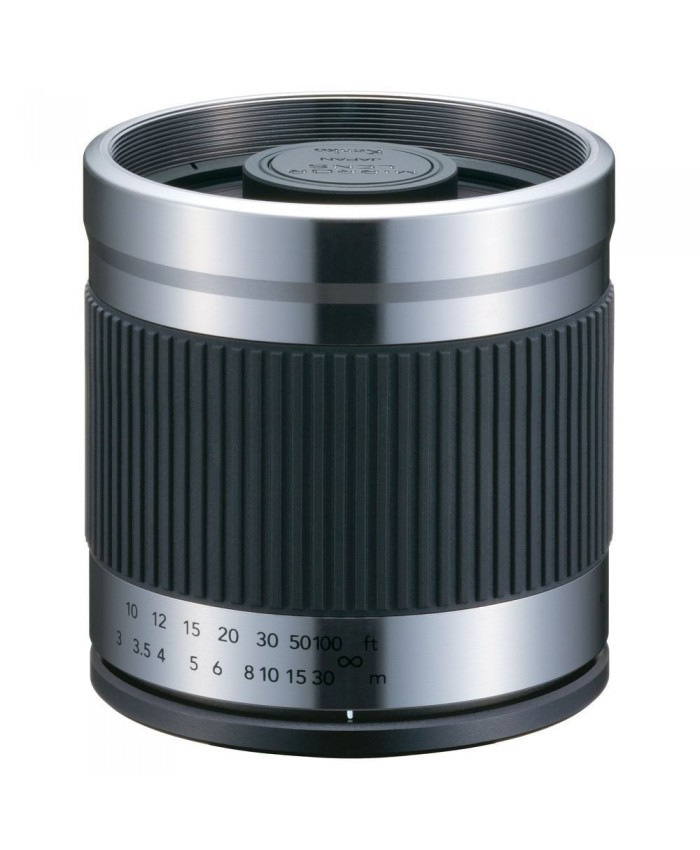 Kenko 400mm f/8.0 Mirror Lens For Canon - Titanium