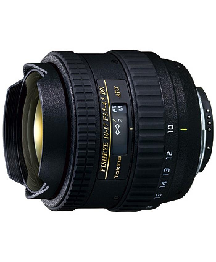 Tokina Fisheye 10-17mm Fisheye - Canon