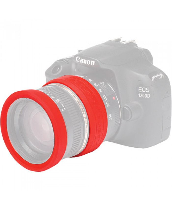 easyCover 52mm Lens Rim RED