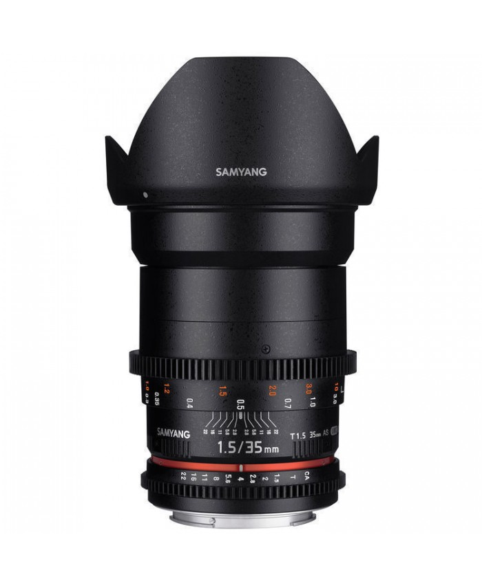 Samyang 35mm T1.5 VDSLR II Nikon